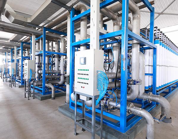 石化废水分质制盐零排放项目