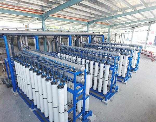 马来西亚印染废水处理及资源化项目
